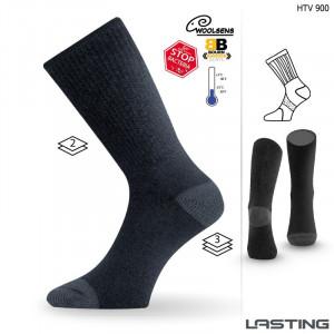 Тhermo socks LASTING HTV, Black