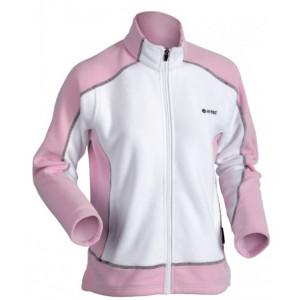Fleece jacket HI-TEC Niana Wos, White