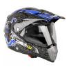 Helmet W-TEC NK-311, Black/Blue