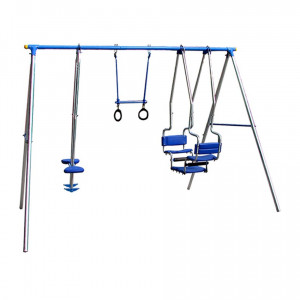 Children´s Swing with Gymnastic Rings inSPORTline - 3 seats