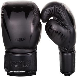 Boxing gloves  VENUM GIANT 3 Nappa leather Black black