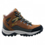 Mens outdoor shoes ELBRUS Skylar Mid WP, Brown/Dark olive