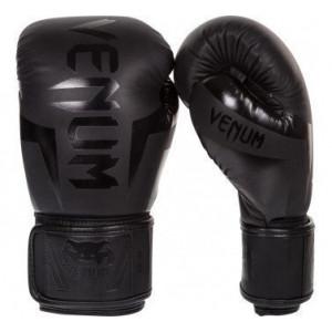 Boxing gloves  VENUM ELITE Black neo matte