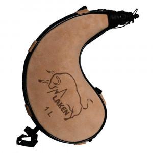 Leather Bota Bag LAKEN Kidney Shape 1 l