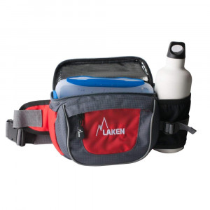 Mini-Trek waist bag including lunch box LAKEN