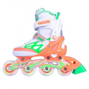 Adjustable Rollerblades WORKER Nubila, Orange