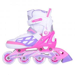 Adjustable Rollerblades WORKER Nubila, Pink