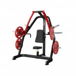Bench Press Machine Steelflex Plateload Line PSBP - Black-Red