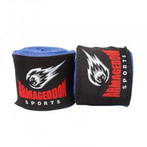 Boxing bandage ARMAGEDDON SPORTS 4.5m, Blue