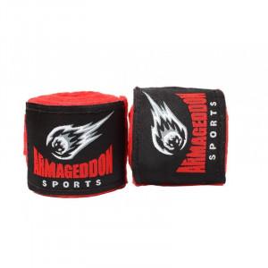 Boxing bandage ARMAGEDDON SPORTS 4.5m, Red