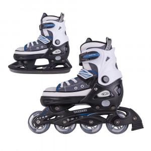 2-in-1 Skates/Rollerblades WORKER Gondo Blue