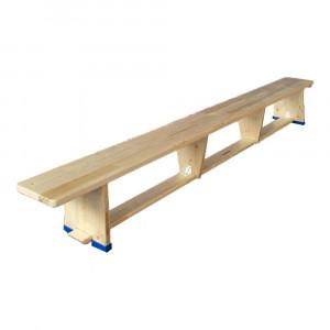 Bench with balancing beam 3 m.