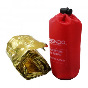 FRENDO Survivor Foil Gold / Silver