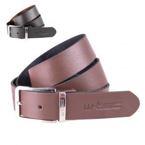 Leather belt W-TEC Machoo