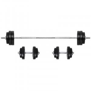 Loading Barbell & Dumbbell Set inSPORTline BS08 3-50kg