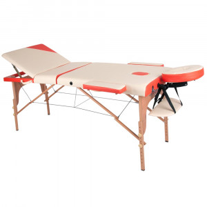 Massage Table inSPORTline Japane 3-pieces wooden