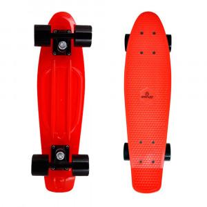 Penny Board SPARTAN Plastic Board 22.5, Red