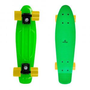 Penny Board SPARTAN Plastic Board 22.5, Green