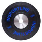 Rubber Weight Plate inSPORTline Bumper Plate 15 kg