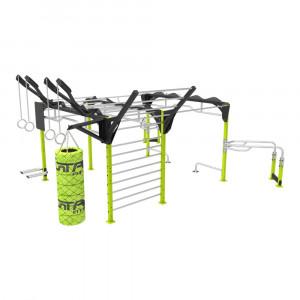 Street fitness training station SFB 008 TITAN