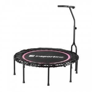 Trampoline without springs with handle inSPORTline Cordy 114 Pink