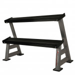 Two-Shelf Dumbbell Rack inSPORTline Profirack II