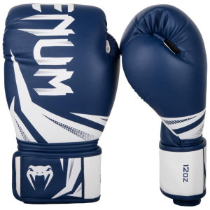 Boxing gloves  VENUM Challenger 3 Navy blue/white