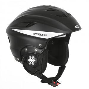 Ski and snowboard helmet  WORKER Dusty, Black