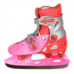 Kids ice skates Junior WORKER Kelly, Pink