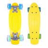 Mini Pennyboard WORKER Pico 17, Yellow