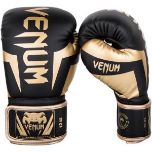 Boxing gloves  VENUM ELITE Black gold