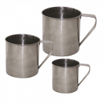 Stainless steel cup YATE 0.35 l