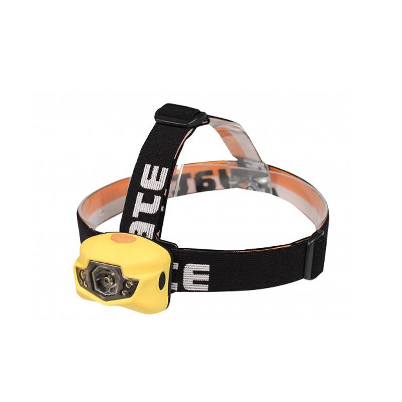 Headlamp YATE Panter 3W+2LED, Yellow