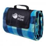 Picnic Blanket AQUAWAVE Chequa Blanket, Blue print