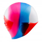 Swimming cap MARTES Multicap, Pink/White/Blue