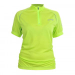 Cycling T-shirt HI-TEC Lady Finna, Green