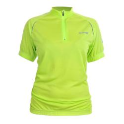 Cycling T-shirt HI-TEC Lady Finna, Green
