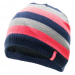 Winter hat MARTES Lady Salmi Indigo/Coral