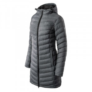 Womens padded coat ELBRUS Heida Wo s, Dark grey