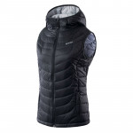Womens quilted vest HI-TEC Lady Nevi, Stretch limo
