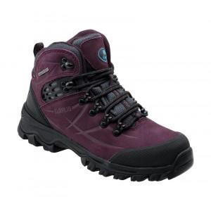 Womens outdoor shoes ELBRUS Mandoza MID WP Wo s, Purple