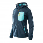 Womens softshell jacket ELBRUS Sogne Wo s, Navy/Ceramic