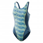 Womens one piece swimsuit AQUAWAVE Riwea modern print