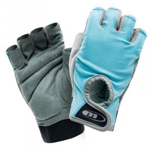 Womens fitness gloves MARTES Lady Sofitnee, Blue
