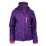 Winter tourism jacket MARTES Lady Legrano 3 in 1, Purple