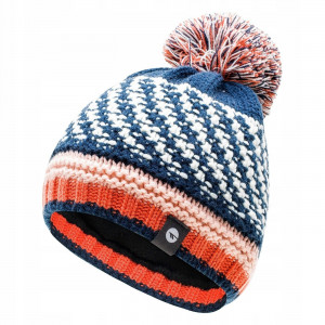 Kids winter hat HI-TEC Henny Jr Insignia blue