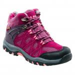 Juniors outdoor shoes HI-TEC Kaori Mid WP Jr, Purple