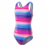 Juniors One piece swimsuit MARTES Nossie JR Colourful stripes