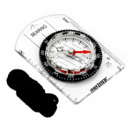 Compass METEOR Small compass with ruler