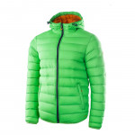 Mens winter jacket ELBRUS Forsol, Poison green